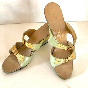 Vintage HighTimers by Joyce-Green w/Gold Accents